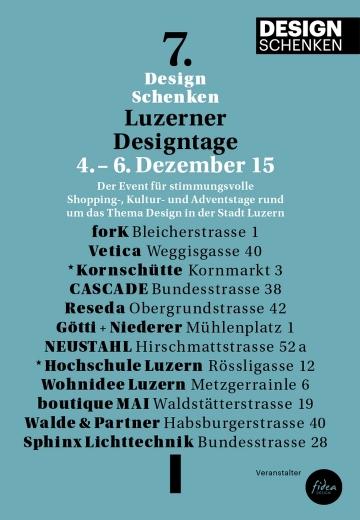 Wohnidee Luzern Design Schenken 1