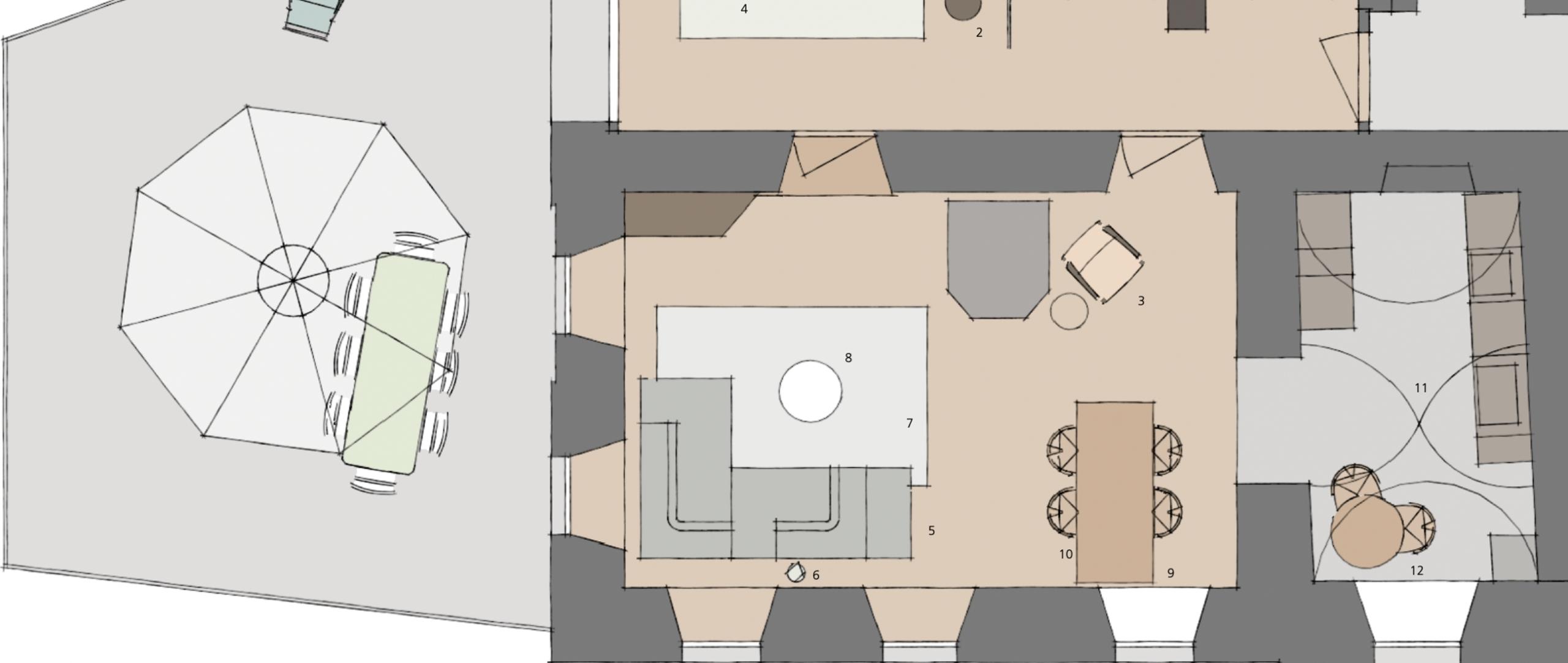 Raumgestaltung   wir sind Ihr Partner für Innenarchitektur.
