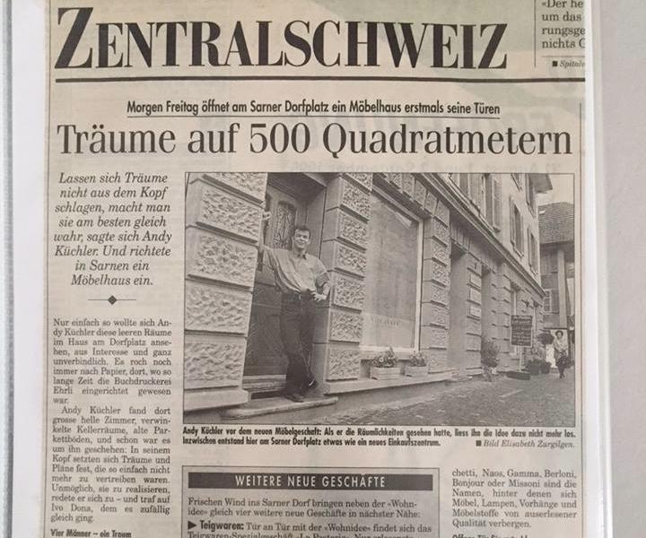 Wohnideen Zeitung 20 lahre wohnidee luzern zeitung wohnidee