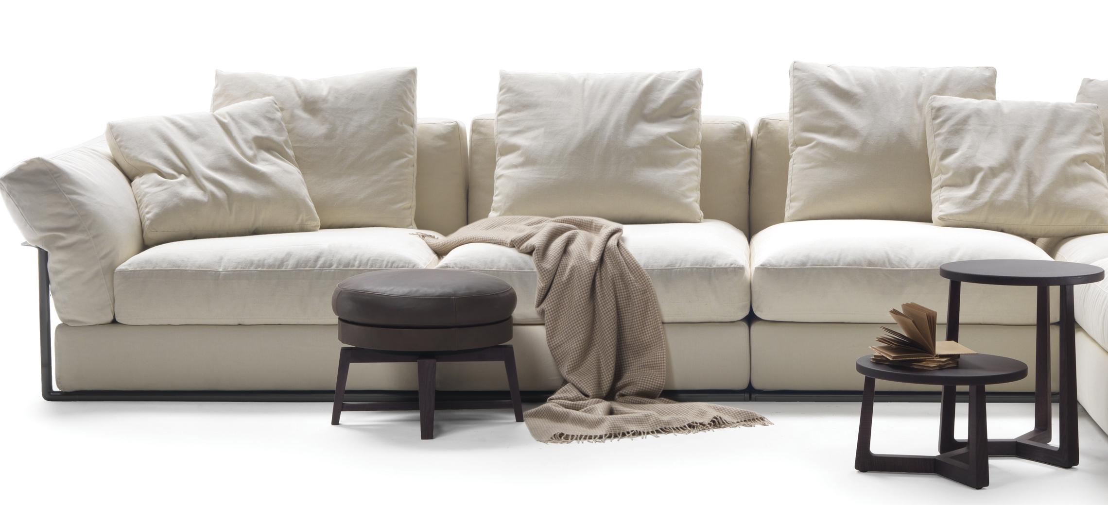 sofa zeno von flexform in der wohnidee luzern probe sitzen. Black Bedroom Furniture Sets. Home Design Ideas