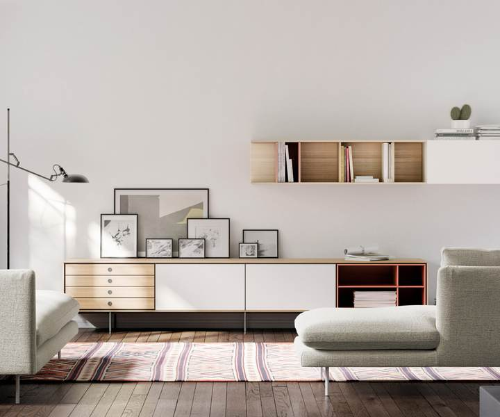 Wohnideen Luzern the aura collection has been conceived mainly for sideboards and