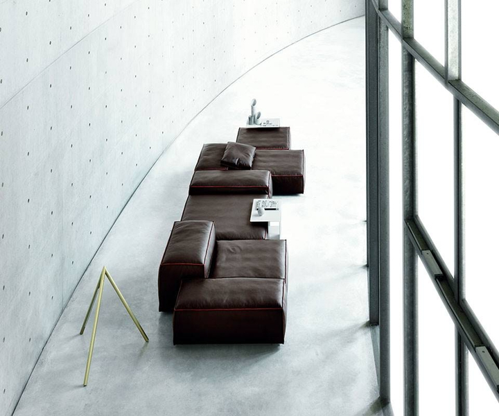 Extrasoft Sofa in der Wohnidee Luzern probewohnen.