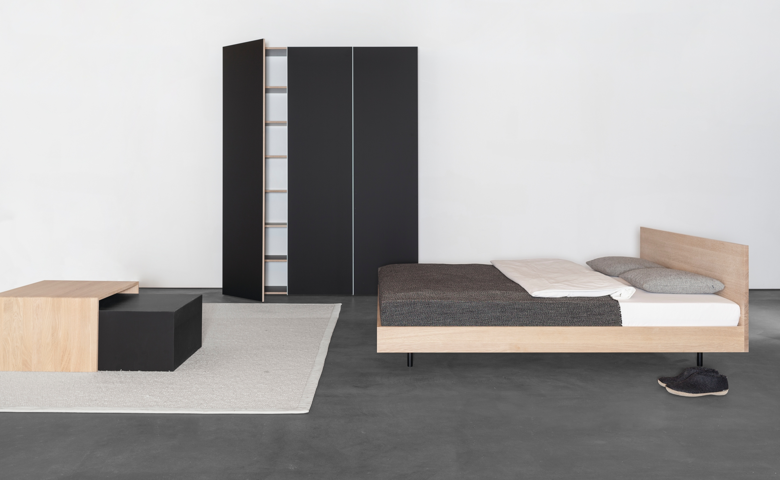 sanktjohanser bett und schrank wohnidee luzern wohnidee. Black Bedroom Furniture Sets. Home Design Ideas